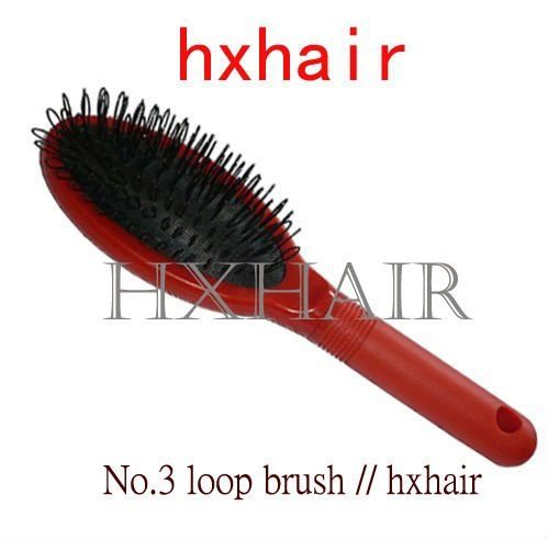 Best 25 professional hair extensions ideas on pinterest hair freeshipping 20pcs no3 loop brush red handle for hair extension professional hair pmusecretfo Images