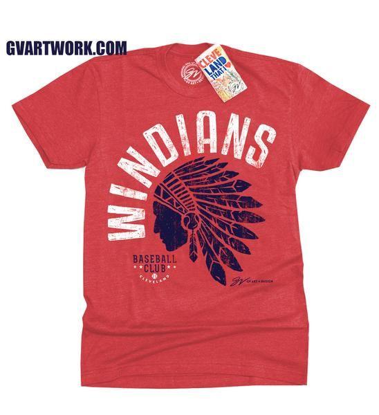 Cleveland Windians Baseball T shirt