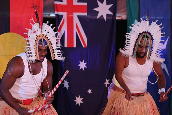 Torres Strait Islander performance during the National Native Title Conference 2014