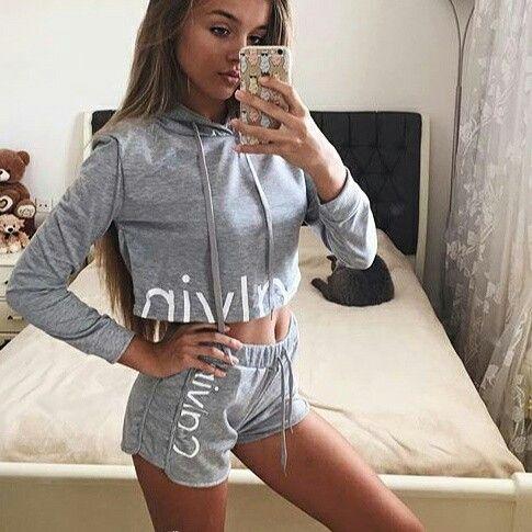 Cal Track set at NEEDMYSTYLE.COM  #fleece #cardigan #croptop #needmystyle #outfit #lacebra #playsuit #hoodie #lacebralette #bikini #sweatshirt #bodysuit #tracksuit #bralette #fashion #romper #selenagomez #bra #jumpsuit #kanyewest #shorts #clothing #kyliejenner #calvinklein #calvin #sweater #kimkardashian #windbreaker #pullover #jacket