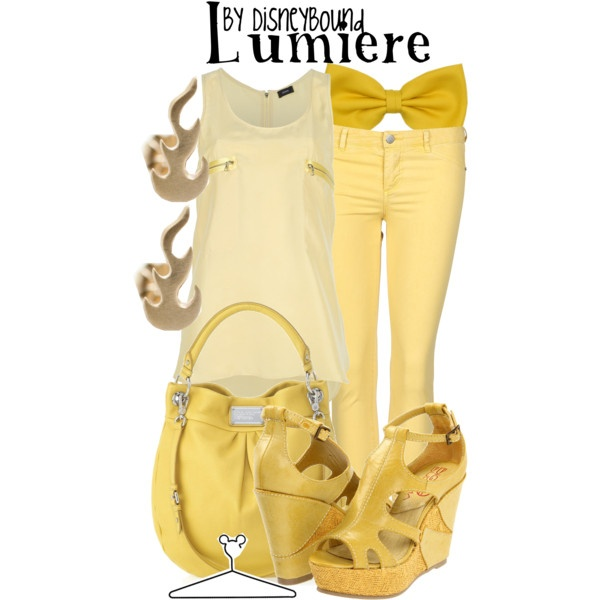Lumiere, created by lalakay on Polyvore #disney