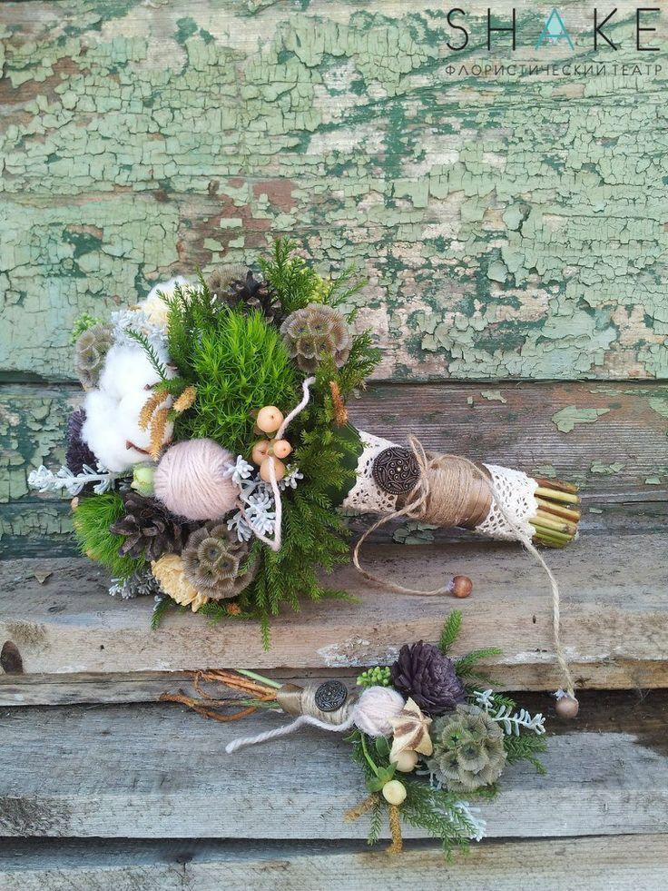 Natural Wedding Bouquet букет невесты, wedding, flowers