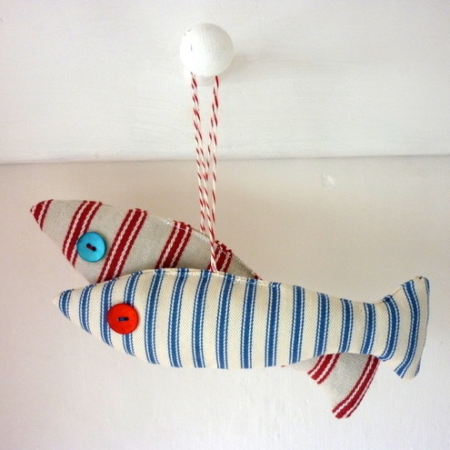 Cute Cloth Fish