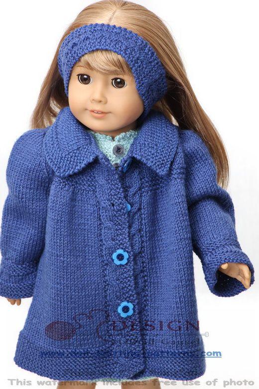 Tricot poupée en chic mode été