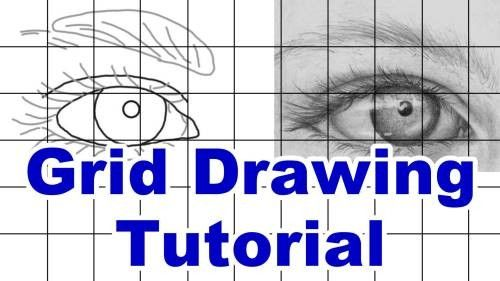 Grid Drawing Tutorial — Online Art Lessons