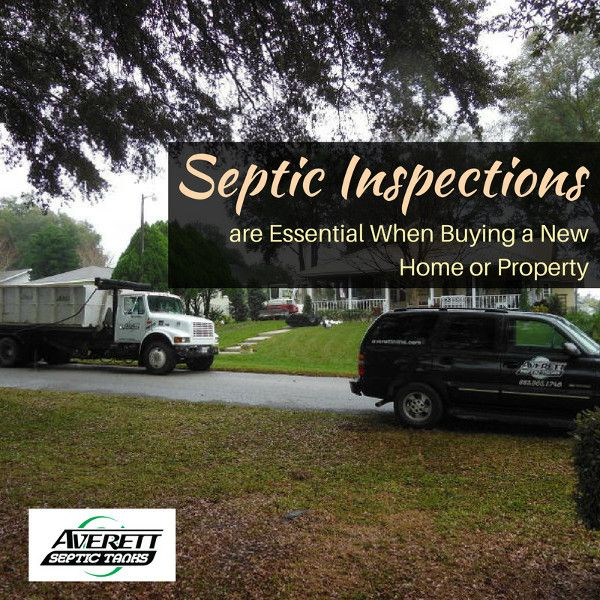Septic Inspections are Essential When Buying a New Home or Property