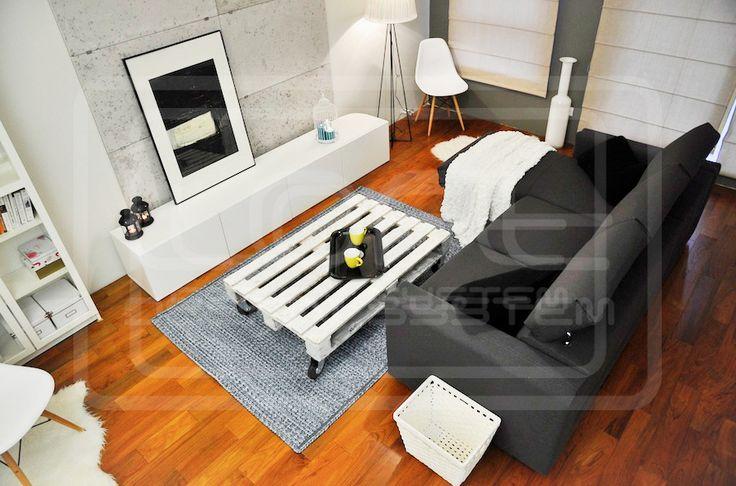 Loft concrete - salon/living room. Click at the photo to get more information or to visit our website.  #LoftDesignSystem #loftsystem #Decorativepanels #Inspiration #Interior #Design #wallpanels #3Ddecorativepanels #3dpanels #3dwallpanels #house #home #homedesign #Decorations #homedecorations  #salon #livingroom