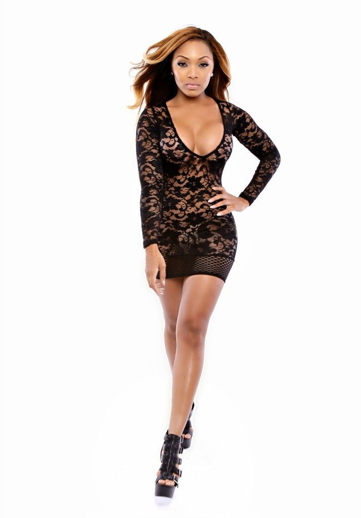 4 Colors Robe Vestido Sexy Club Dress Women Lace Club Party Dresses Nightclub Evening Bodycon Dress See Through Teddy Sexy Dress