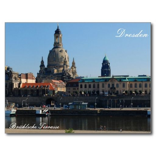 The #Brühl's #Terrace in #Dresden #Postcard