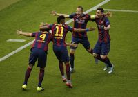 #Ivan, #Neymar, #Iniesta en #Messi vieren de snelle voorsprong. What Should they #wear #underwear #juventus #fcbarcelona http://www.underwear-online.com