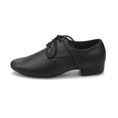 Scarpe da ballo - Non personalizzabile - Donna - Moderno / Sala da ballo - Tacco spesso - Eco-pelle - Nero del 2016 a €24.49