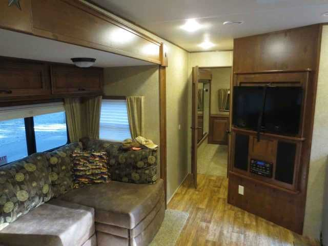 2014 Used Open Range Light 305BHS Travel Trailer in Virginia VA.Recreational Vehicle, rv, 2014 Open Range Light 305BHS, Gently used (total of less than 30 days) Open Range Light 305BHS. This is a great travel trailer but we aren't able to get out as much as we'd like. The outdoor kitchen is an absolute must have and this trailer has a great one. The interior is spacious and in excellent shape. Willing to sell with many of the cabinets/storage areas filled (patio mat, direct tv satellite…