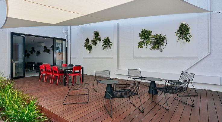 Puma Head Office & Showroom Commercial Office Fitout Deck