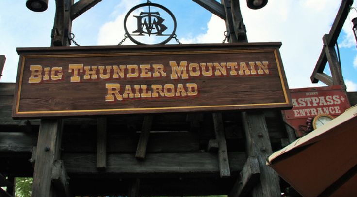 By Cassie 8. Big Thunder Mountain Railroad is visually based on Monument Valley in Utah. (Seen in Stagecoach film) because the ride's designer was inspired by a photo series in National Geographic. 7. You don't see much of this ride from outside the mountain. Imagineers needed to make it look like the mountain was there…
