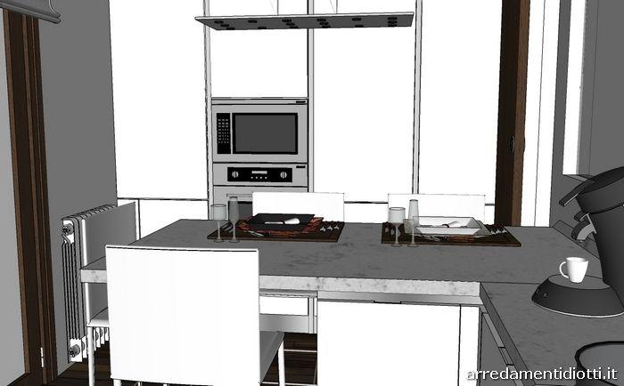 Oltre 25 fantastiche idee su cucina bianca lucida su pinterest - Cappa cucina bianca ...