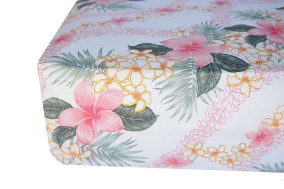 Floral crib sheet Baby girl crib sheet by SprinkledWithKisses