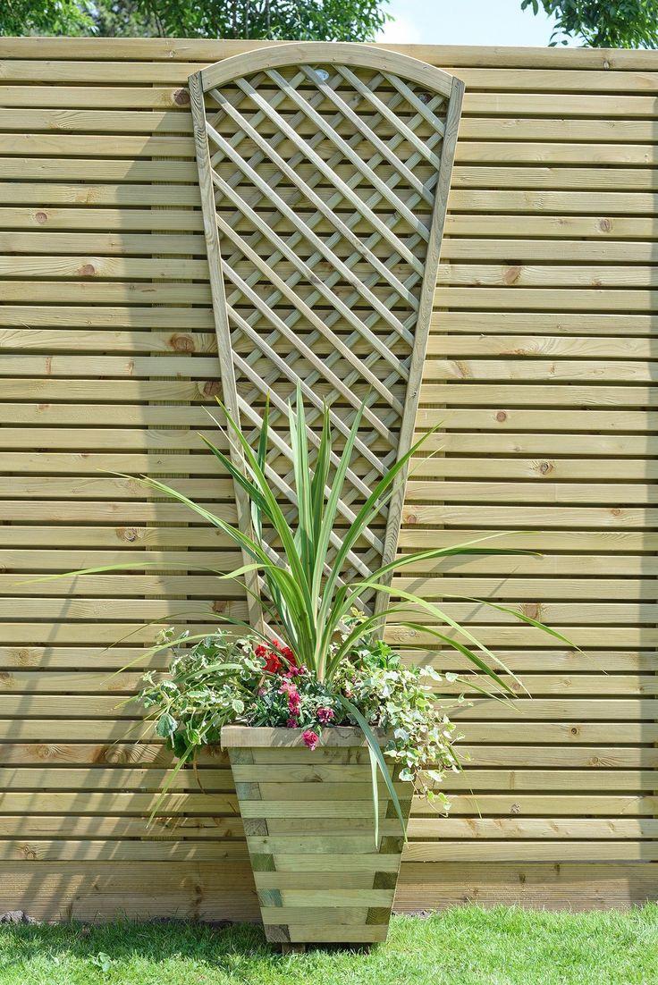 51 best garden fence panels and trellis images on pinterest alderley fan trellis gardensite baanklon Gallery