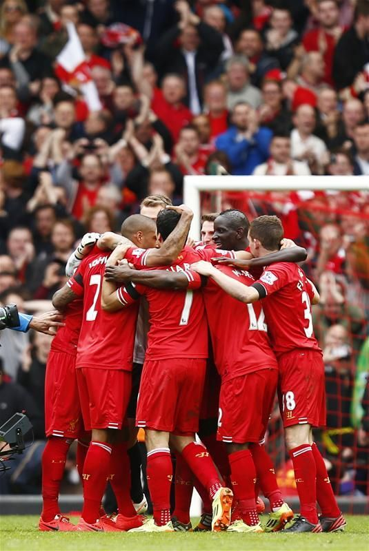 THIS IS OURS. COME ON YOU REDS!!!! #LFC