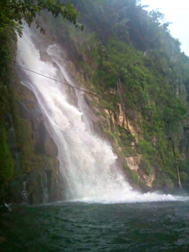 Binanga Lom Waterfall