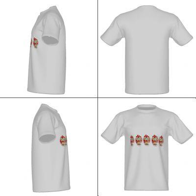 お客様が2017-07-22 17:32:22に作成・制作されたUnited Athle 5.6oz Tシャツのデザインです。デザインの変更や料金の見積(多数量で格安!)からそのまま注文そのままプリントできます。