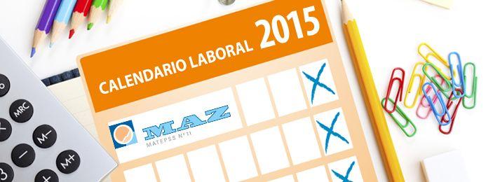 Descargar Calendario Laborales 2015 en PDF