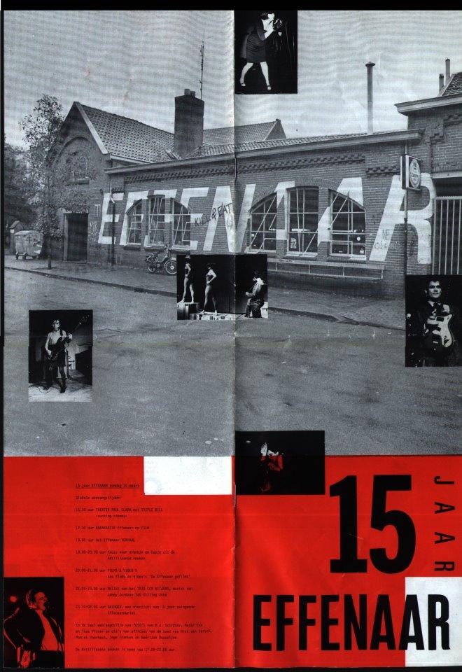 15 jaar Effenaar affiche