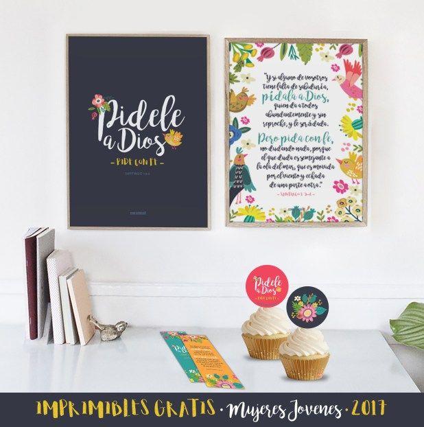 Imprimibles Mujeres Jóvenes 2017 GRATIS!!!
