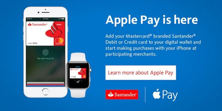 Santander Bank in U.S. Now Supports Apple Pay With MasterCard Branded Credit and Debit Cards  #RelatedRoundup:ApplePayTag:SantanderBank #news