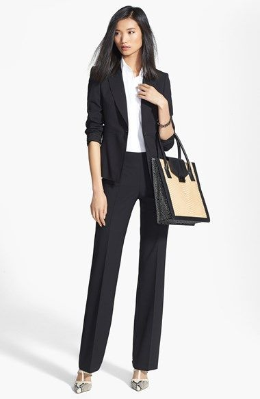 Classic pant suit with great bag and shoes BOSS HUGO BOSS ...