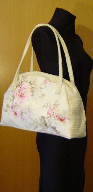 Bag whit flowers