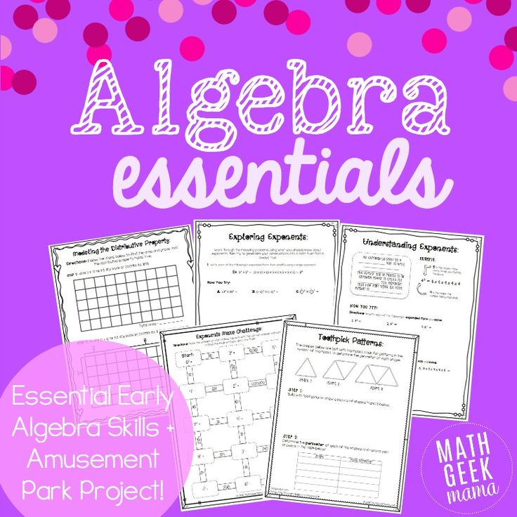 64 best algebra images on pinterest school activities and equation this huge lesson bundle is jam packed full of resources for the algebra classroom fandeluxe Images