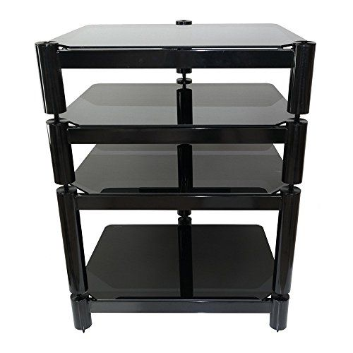 buy now   £200.00   The Fisual Ensemble Hi-Fi rack is a great choice for the discerning customer looking for great performance at a reasonable price. Our 8mm tempered glass shelves sit  ...Read More