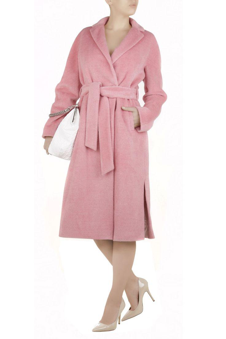 Luksusowy płaszcz z suri alpaki