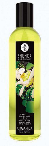 Shunga massage olie - Organica - 250 ml fra Shunga - Sexlegetøj leveret for blot 29 kr. - 4ushop.dk - Shunga massage olie er fremstillet af 100% naturlig koldpresset olier. Ideel til en afslappende massage, hvor denne naturlige olie giver en dejlig og blød kropsmassage. Efterlader huden lækker og blød og styrker denne med sit indhold af vitamin E.