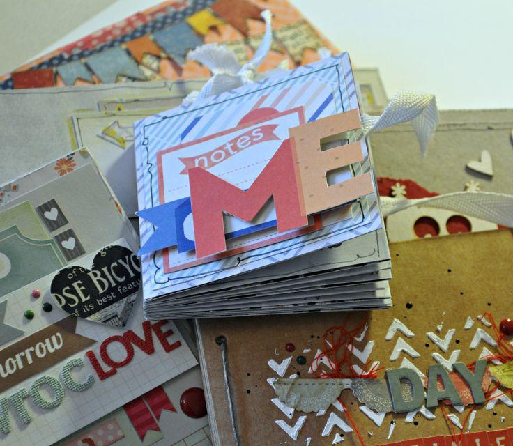 Witajcie! Mini albumy – kocham i uwielbiam je tworzyć! A wy jak oprawiacie wspomnienia? Album? Scrap? Przygotowała dla mini album z jednej kartki papieru do scrap bookingu 30 cm x 30 cm – jak dla mnie super pomysł na cos...