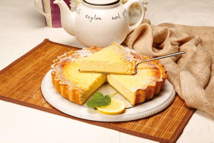 Receita de Tarte de requeijão. Descubra como cozinhar Tarte de requeijão de maneira prática e deliciosa com a Teleculinaria!