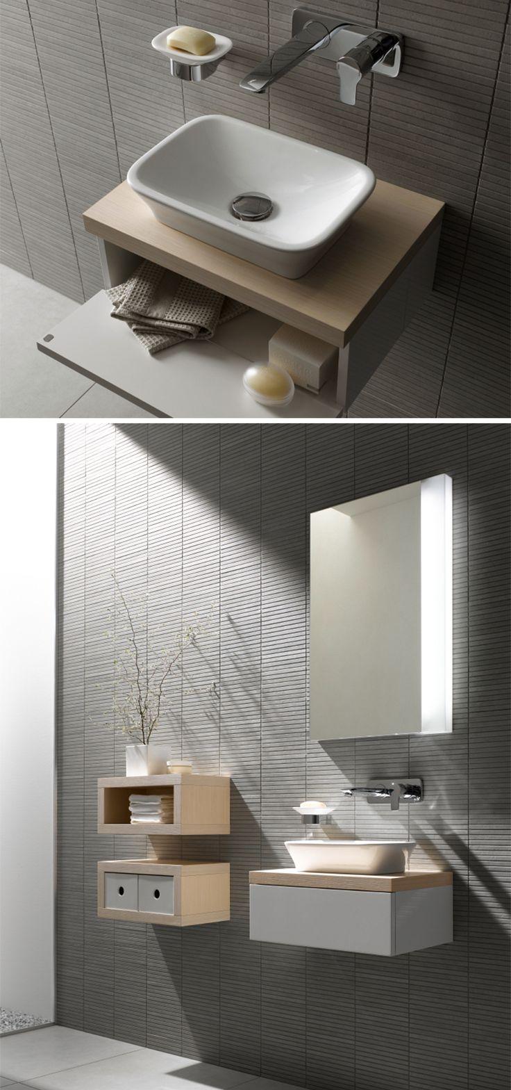 Dieses Waschbecken Kommt Auf Den Dunklen Fliesen Optimal Zur Wirkung!  Bildmaterial (c) TOTO