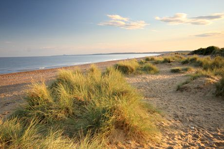 Dunwich Heath, Minsmere, Suffolk.  10 of the UK's best hidden beaches for the weekend.