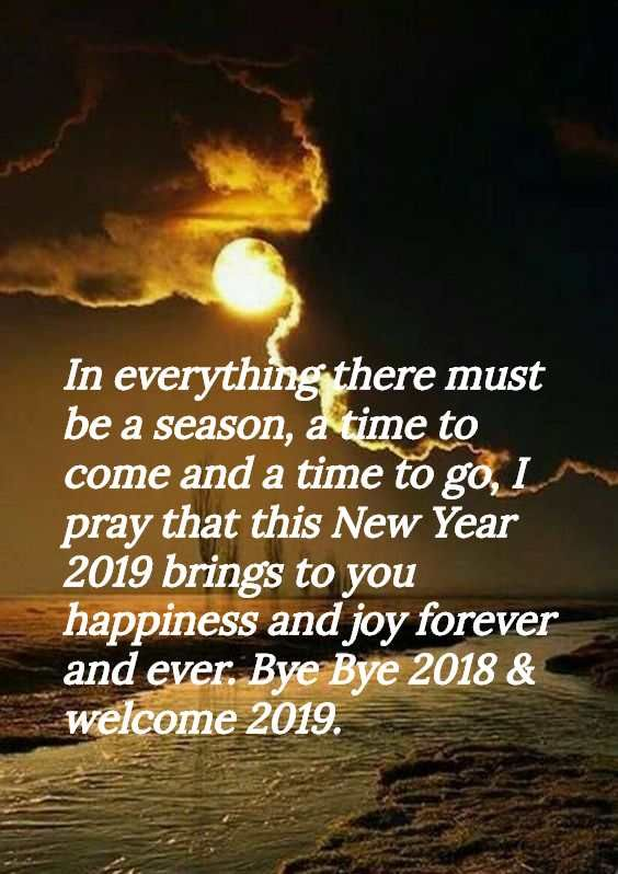 Happy New Year 2019 Messages For Best Friend And Family