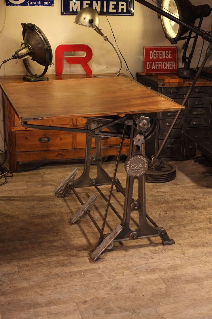 1000 images about drafting tables on pinterest vintage. Black Bedroom Furniture Sets. Home Design Ideas