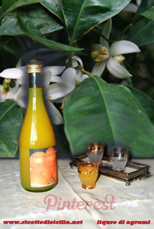 Liquore di agrumi ricetta su http://www.ricettedisicilia.net/it/dolci/liquori-dolci/rosolio-di-agrumi/