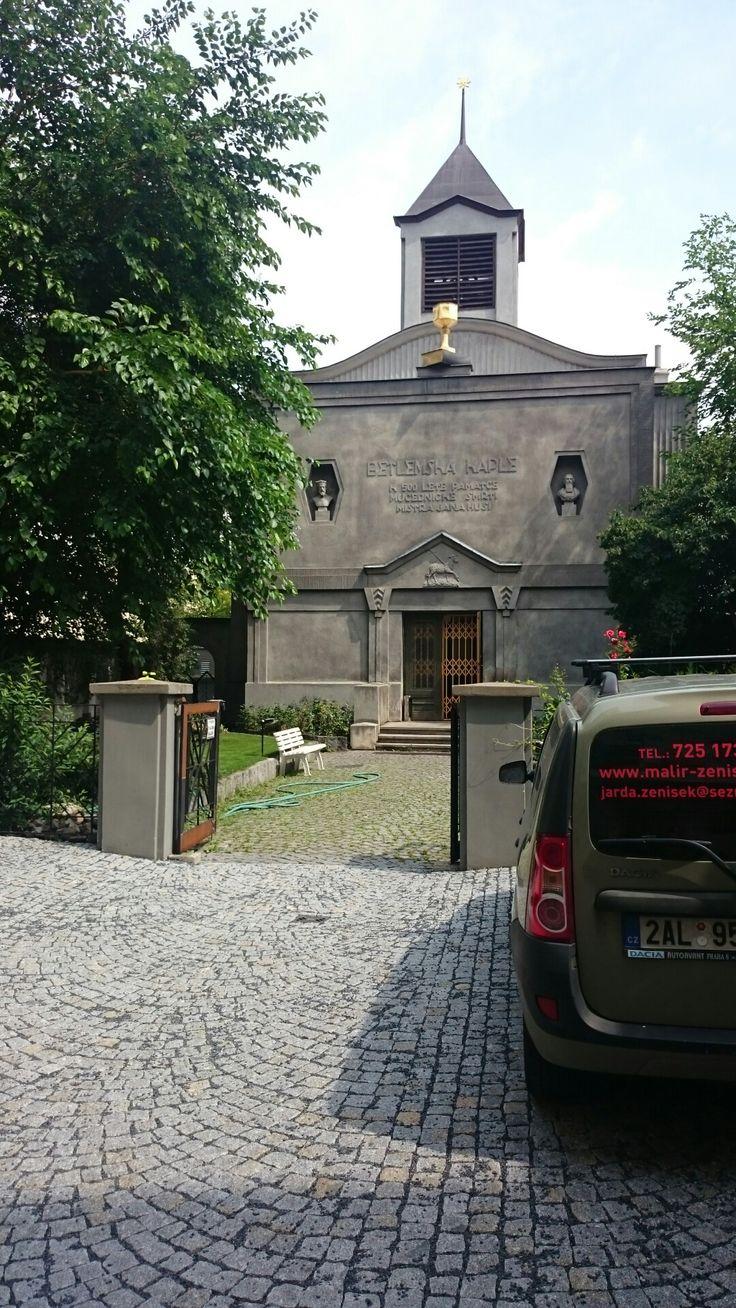 Kaple českobratrského evangelického sboru Prokopova ulice Na Žižkově
