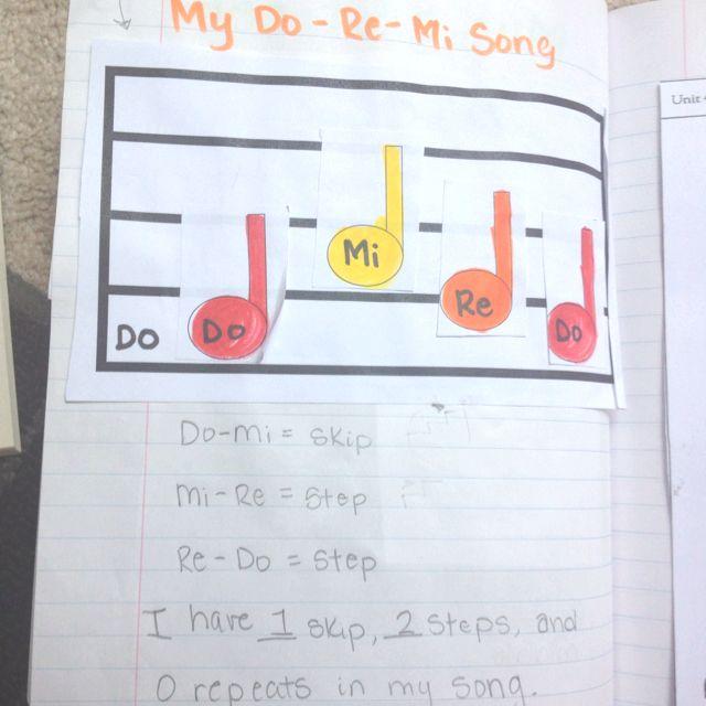 Interactive Music Notebook :)