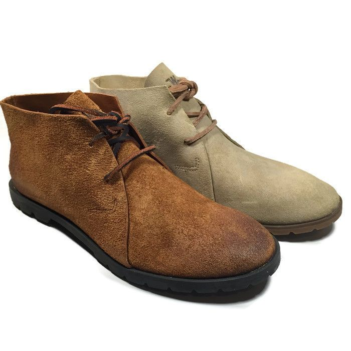 Woolrich Lane Chukka Women Suede Ankle Boots