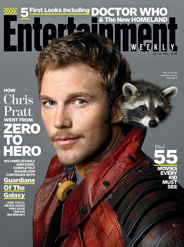This week's cover: Chris Pratt goes from zero to hero in 'Guardians of the Galaxy': http://popwatch.ew.com/2014/07/09/guardians-of-galaxy-chris-pratt-cover/