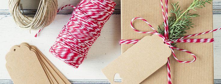 Emballer ses cadeaux de façon écolo ! - À quelques semaines de la nuit de Noël, voici nos idées po...