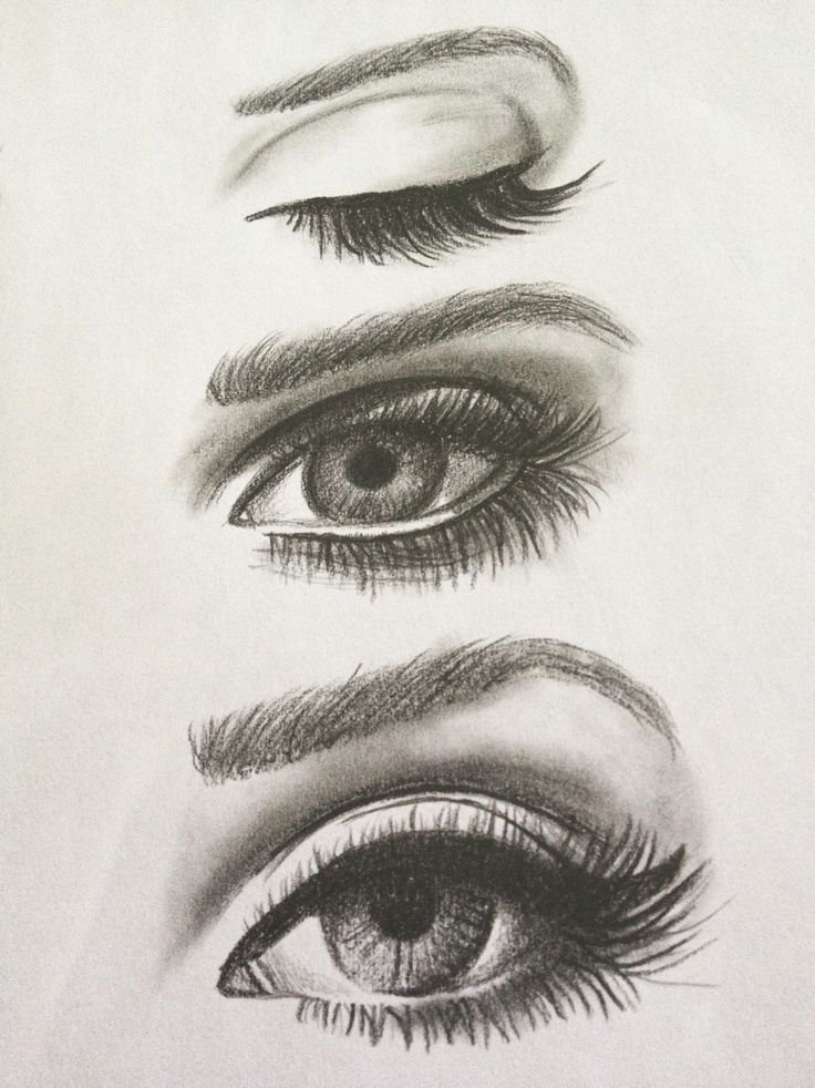 eyes draws