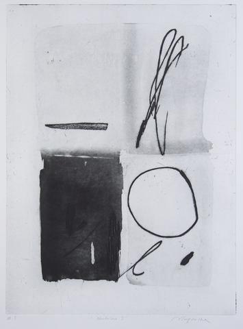 Violeta Capovska 'Nocturne I' - etching on paper – Angela Tandori Fine Art
