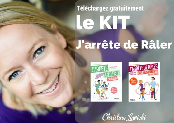 KIT J'ARRETE DE RALER | CHRISTINE LEWICKI