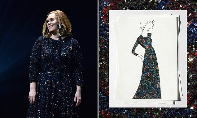 Adele will ONLY wear bespoke Burberry on her world tour
